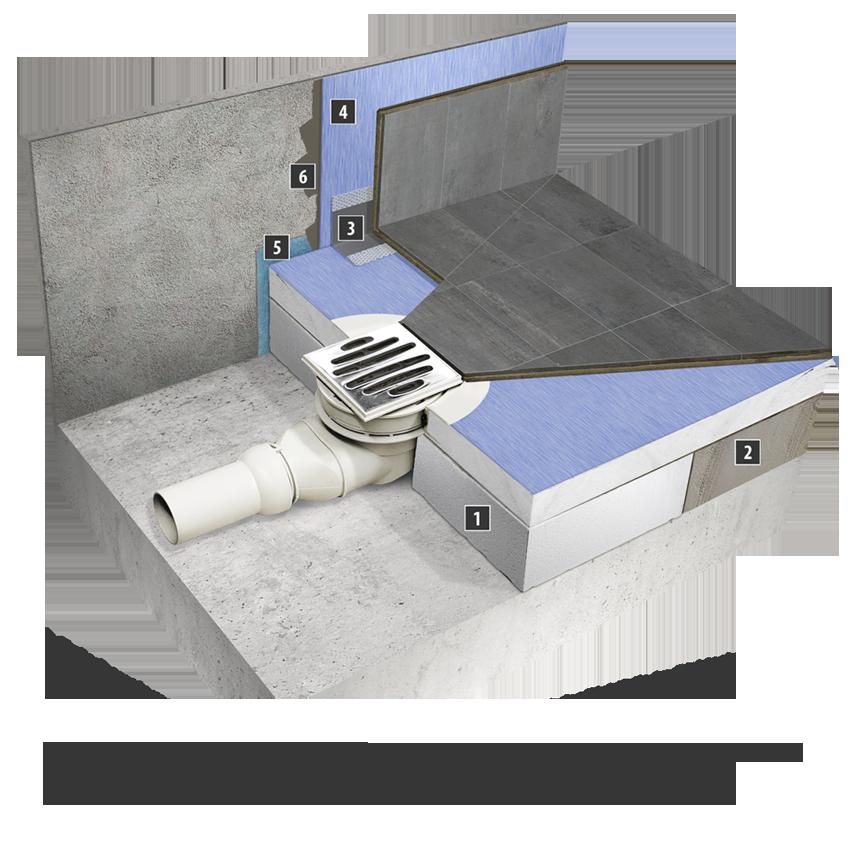 duschelement duschboard duschtasse 120x150 cm duschtasse ebenerdig befliesbar ebay. Black Bedroom Furniture Sets. Home Design Ideas